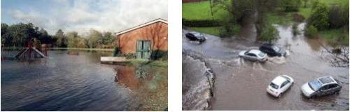 two flood prone areas of solihull
