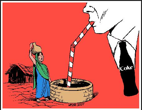 coke varanasi cartoon