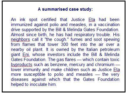 gates case study