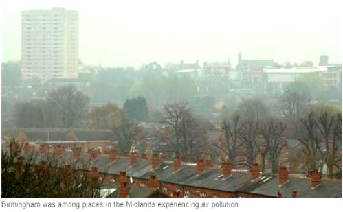 air pollution brum